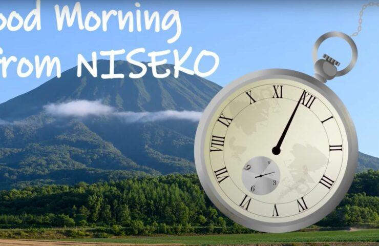 Good morning from Niseko TV spot