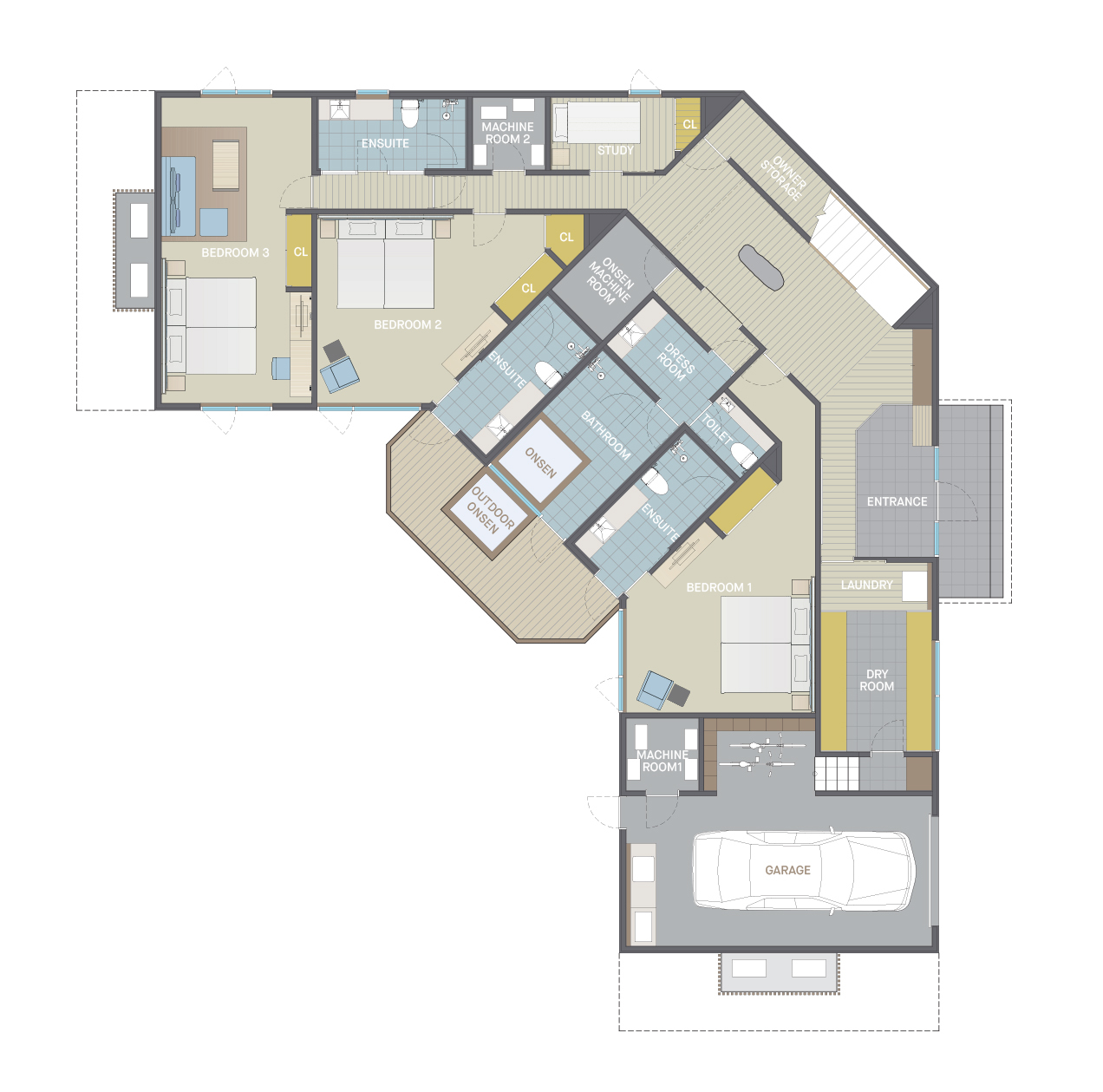 Floor plan type3 1f