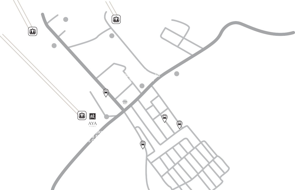 Panorama Niseko showroom map